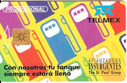 MEXICO - Afianzadora Insurgentes($10), Tirage 3000, 06/99, Used - Mexico