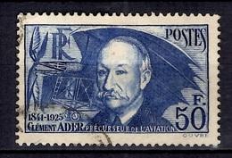 France Ader YT N° 398 Oblitéré. B/TB. A Saisir! - France