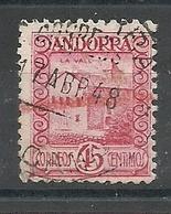 ANDORRA CORREO ESPAÑOL  SELLOS Nº 38 USADO (S.1.C.08.18) - Andorre Espagnol