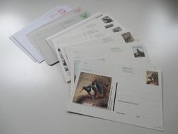 Slowenien Posten Ganzsachen / Karten Auch Umschläge 1990er Jahre. Motive / Tiere. Insgesamt 42 Stück!.Ungebraucht - Slowenien