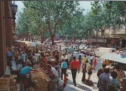 Marketday - Arenys De Mar. Rambla.  Dia De Mercado.    # 07788 - Markets