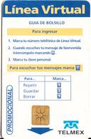 MEXICO - Línea Virtual($10), Tirage 50000, 04/99, Used - Mexico
