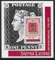 1979 SIERRA LEONE  BF 3** Rowland Hill, Timbre Sur Timbre - Sierra Leone (1961-...)