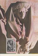 Carte-Maximum FRANCE N°Yvert 1780 / Sépulcre De Tonnerre, Sainte Femme - 1970-79