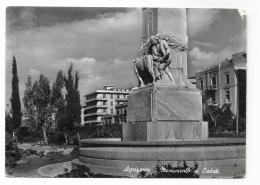 AGRIGENTO - MONUMENTO AI CADUTI - VIAGGIATA FG - Agrigento
