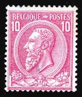 Belgique - 1884-91 - ** - COB 46 - 10c - Valeur 52 € - 1884-1891 Leopold II