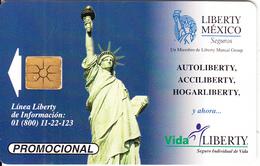 MEXICO - Statue Of Liberty/New York, Liberty Mexico($10), Calendar 1999, Tirage 50000, 06/99, Used - Mexico