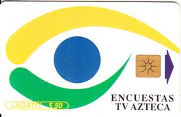 MEXICO - TV Azteca($50), Tirage 1500, 05/98, Used - Mexico
