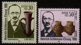 DDR MiNr. 3364/65 ** 100. Todestag Von Heinrich Schliemann - [6] République Démocratique