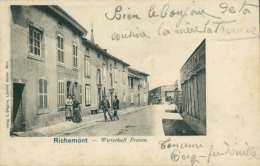 57 RICHEMONT  / Wirtschaft France /  CARTE RARE - Autres Communes