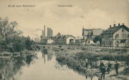 57 ROMBAS  / Hüttenstrasse   /  CARTE RARE - Autres Communes