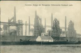 57 ROMBAS  / Hochhofen-Anlage Der Rombacher Hûttenwerke  /  CARTE RARE - France