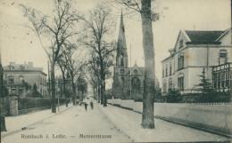 57 ROMBAS  / Metzerstrasse /   CARTE RARE - France