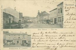 57 ROMBAS  / Restauration E. Lemaire /   CARTE RARE - France