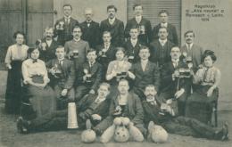 """57 ROMBAS  / Kegelklub  """" Alle Neune  """" 1914   /   BELLE CARTE RARE - France"""