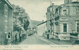 57 ROSSELANGE /une Rue / BELLE CARTE RARE - France