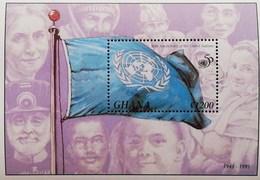 Ghana 1995 U.N. 50th. Anniv. S/S - Ghana (1957-...)