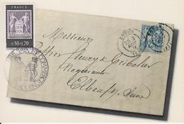 Carte-Maximum FRANCE N°Yvert 1870 / Lettre De Septembre 1876 - 1970-79