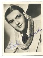 Patite Photo (6,5 X 9 Cm) De Félix Mendelshon, Avec Signature Autographe - Reproductions