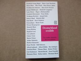 Deutschland Erzählt (Arthur Schnitzler) éditions S. Fischer - Livres, BD, Revues