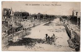 Saint Quentin : Le Canal (Edit. E.C., Paris, N°542) - Saint Quentin