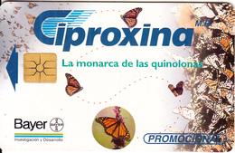 MEXICO - Ciproxina/Bayer($5), Calendar 1997, Tirage 20000, 04/97, Used - Mexico