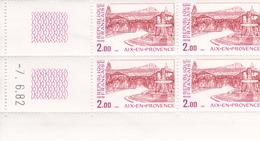 N° 2194 Coin Daté En Timbres Neufs (07/06/1982) Aix En Provence. - 1980-1989