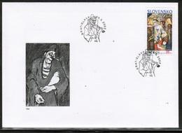 CEPT 2002 SK MI 424 SLOVAKIA FDC - 2002