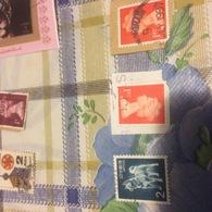 INGHILTERRA REGINA ROSSO - Stamps