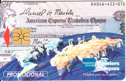 MEXICO - American Express Travelers Cheques($5), Tirage 5000, 08/95, Used - Mexico