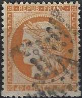 1871- 1875 Siège De Paris Céres N°38f, 4 Retouché Obl étoile De Paris 1 Signé Calves - 1870 Siège De Paris