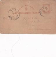 ENTERO ENTIER LEVELEZO LAP CIRCULEE OBLITERE ZAGREB WIEN CIRCA 1879 - BLEUP - Postal Stationery