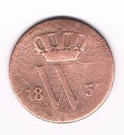 1 CENT 1837  NEDERLAND /4658G/ - [ 3] 1815-… : Kingdom Of The Netherlands