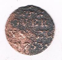 DUIT 1753 OVERIJSSEL /4659G/ - [ 1] …-1795 : Former Period