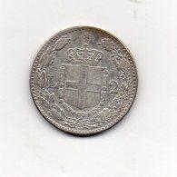 Italia - 1897 - 2 Lire - Umberto I° - Roma - Argento 835 - Non Comune - Vedi Foto - (MW1396) - 1861-1946 : Regno