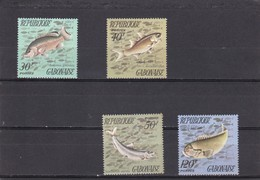 Gabon Nº 347 Al 350 - Gabon