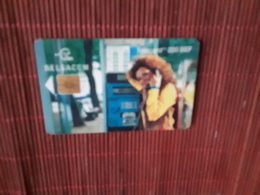 Phonecard Women On Phone  Used - Belgium