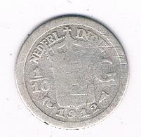 1/10 GULDEN 1912 NEDERLANDS INDIE  /4667G/ - [ 4] Colonies