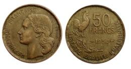 RARISSIME!!! 50 Francs GUIRAUD Année 1950 TB/TTB A VOIR!!! - France