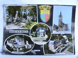 CP (72) Sarthe - BESSE SUR BRAYE - France