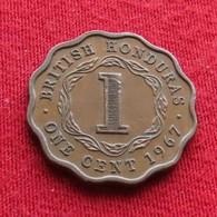 British Honduras 1 Cent 1967 KM# 30 - Belize