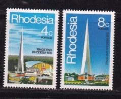 RHODESIA, 1978, Mint Never Hinged Stamp(s) , MI 204-205, Rhodesia Fair,   #132 - Rhodesia (1964-1980)