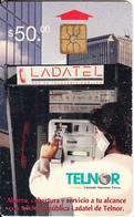 MEXICO - Telnor Cardphone, Telnor Telecard $50, Chip TH01, Used - Mexico
