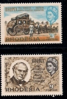 RHODESIA 1966 MNH Stamp(s) Rhopex 38-41  (2 Values Only) - Rhodesia (1964-1980)