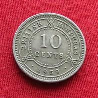 British Honduras 10 Cents 1959 KM# 32 - Belize