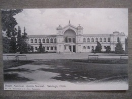 Tarjeta Postal - Chile Chili - Santiago - Museo Nacional Quinta Normal - J. Allan 115 Valparaiso - Chili