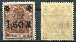 Deutsches Reich Michel-Nr. 154Ia Postfrisch - Geprüft - Deutschland