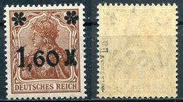 Deutsches Reich Michel-Nr. 154IIa Postfrisch - Geprüft - Ungebraucht