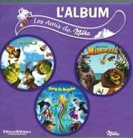 Z126 - ALBUM COLLECTEUR MILKA - LES AMIS DE MILKA - MADAGASCAR SHREK 2 GANG DE REQUINS - Albums & Catalogues