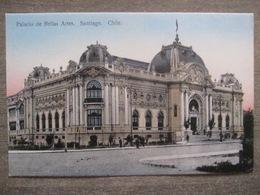 Tarjeta Postal - Chile Chili - Santiago - Palacio De Bellas Artes - Juan Sepulveda 81 - 1912 - Chili